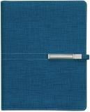 Agenda organizator A5 cu catarama, navy, 290 file, Trend