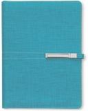 Organizer A5 cu catarama, culoare turqoise, 290 file, Trend