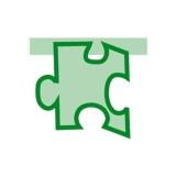 Puzzle Monocolor Verde  Big Party