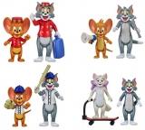 Figurine Tom si Jerry, 8 cm, 2 buc/set, Noriel