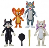 Figurine Tom si Jerry, 8 cm, 4 buc/set Noriel