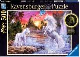 Puzzle Unicorni La Rau, 500 Piese Starline Ravensburger