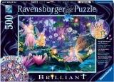 Puzzle Zanale Padurii, 500 Piese + Stickere Ravensburger