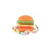 Geanta de Umar Pop it Now, 14 cm, model Hamburger
