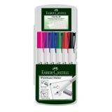 Marker whiteboard Slim 1560 set 6 bucati Faber-Castell