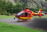 Macheta Elicopter EC135 AIR-GLACIERS - 04986