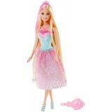 Papusa Barbie Mattel BRB Long Hair Pink DKB56-DKB60