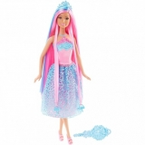 Papusa Barbie Mattel BRB Long Hair Blue DKB56-DKB61