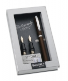 Set caligrafie BW Vision Classic cognac in cutie magnet ONLINE Germany