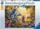 Puzzle Dragon, 500 Piese Ravensburger