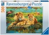Puzzle Familie De Lei, 500 Piese Ravensburger