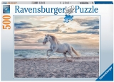 Puzzle Cal Pe Plaja, 500 Piese Ravensburger
