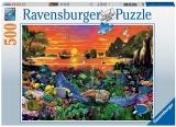 Puzzle Testoasa, 500 Piese Ravensburger