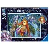 Puzzle Zana, 500 Piese + Stickere Ravensburger