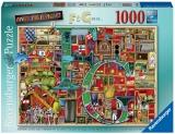 Puzzle Alfabet Colin Thompson, 1000 Piese Ravensburger