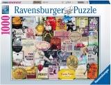 Puzzle Colectia Etichete De Vin, 1000 Piese Ravensburger