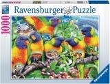 Puzzle Tinutul Loriinilor, 1000 Piese Ravensburger