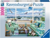 Puzzle Vedere La Plaja, 1000 Piese Ravensburger