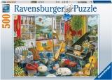 Puzzle Sala De Muzica, 500 Piese Ravensburger