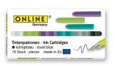 Patroane albastru Colored 12 patroane/cutie ONLINE Germany