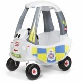 Masinuta De Politie Alba Cozy Coupe Little Tikes