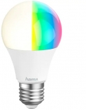 Bec LED inteligent, Wi-Fi, 10 W, E27, RGB, Hama