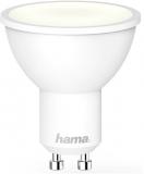 Bec LED inteligent, Wi-Fi, 4.5 W, GU10, alb, Hama