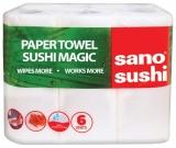 Prosoape de bucatarie, 2 straturi, 6 role/set, Sano Sushi