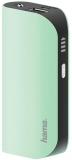 Baterie externa Design Line, 5200 mAh, verde Hama