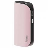 Baterie externa Design Line, 5200 mAh, roz Hama