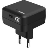 Incarcator Qualcomm Quick Charge 4+, USB Type C, Hama