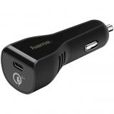 Incarcator Auto Qualcomm Quick Charge 4+, USB Type C, Hama