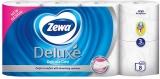 Hartie igienica Deluxe Delicate Care, 3 str, 8 role/set Zewa