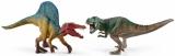 Figurine Schleich - Set figurine Spinosaurus si T-Rex - SL41455