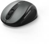 Mouse optic wireless MW-400, 1600 dpi, antracit Hama