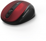 Mouse wireless MW-400, 6 butoane, rosu Hama