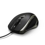 Mouse optic cu fir Torino, negru Hama