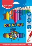 Creioane colorate Color Peps Star 18 culori/set Maped