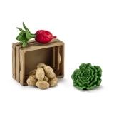 Set accesorii Schleich - Hrana pantru porci si purcei - SL42289