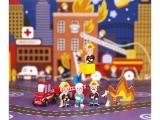 Set Mini Story Janod - Povesti cu pompieri - J08515