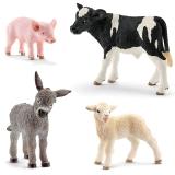 Set figurine Schleich - Pui de animale de ferma - SL13848