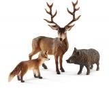 Set figurine Schleich - Animale din padurile europene - SL41458