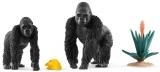 Set figurine Schleich - Gorile cautand mancare - SL42382