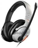 Casti gaming 7.1, USB, culoare alb, Khan Aimo Roccat