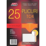 Plic C4 gumat offset 229 x 324 mm, 90 g/mp 25 buc/set GPV