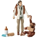 Set figurine Schleich - Vaterinar la munca - SL42353
