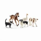 Set figurine Schleich - Animalute din lumea fermei - SL42386