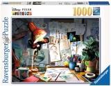 Puzzle Biroul Artistului, 1000 Piese Ravensburger