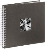Album foto Fine Art 28 x 24 cm, 50 pagini, negru