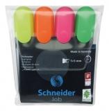 Textmarker Job 4 bucati/set Schneider